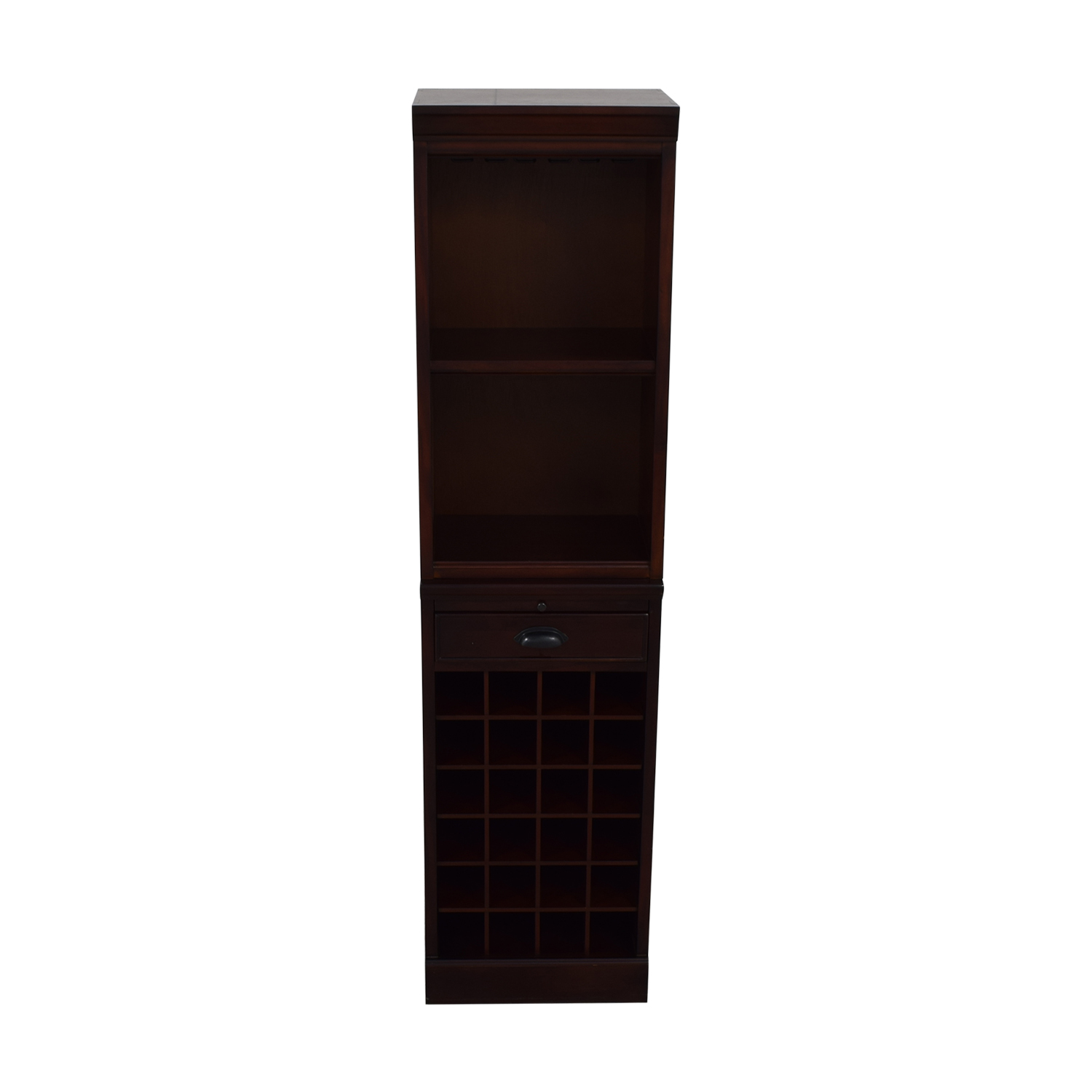 buy Pottery Barn Pottery Barn Wine Grid Cabinet Bar Tower online