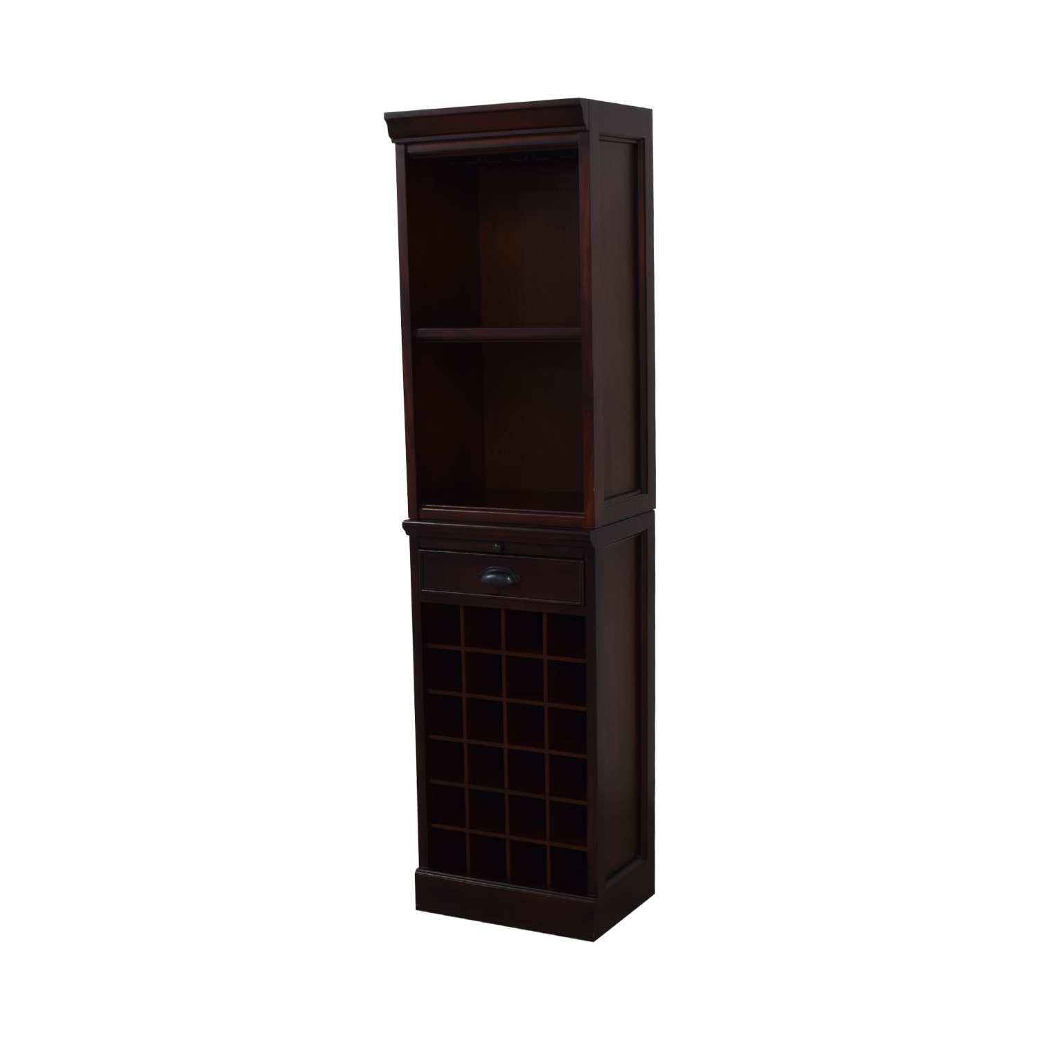Pottery Barn Pottery Barn Wine Grid Cabinet Bar Tower on sale