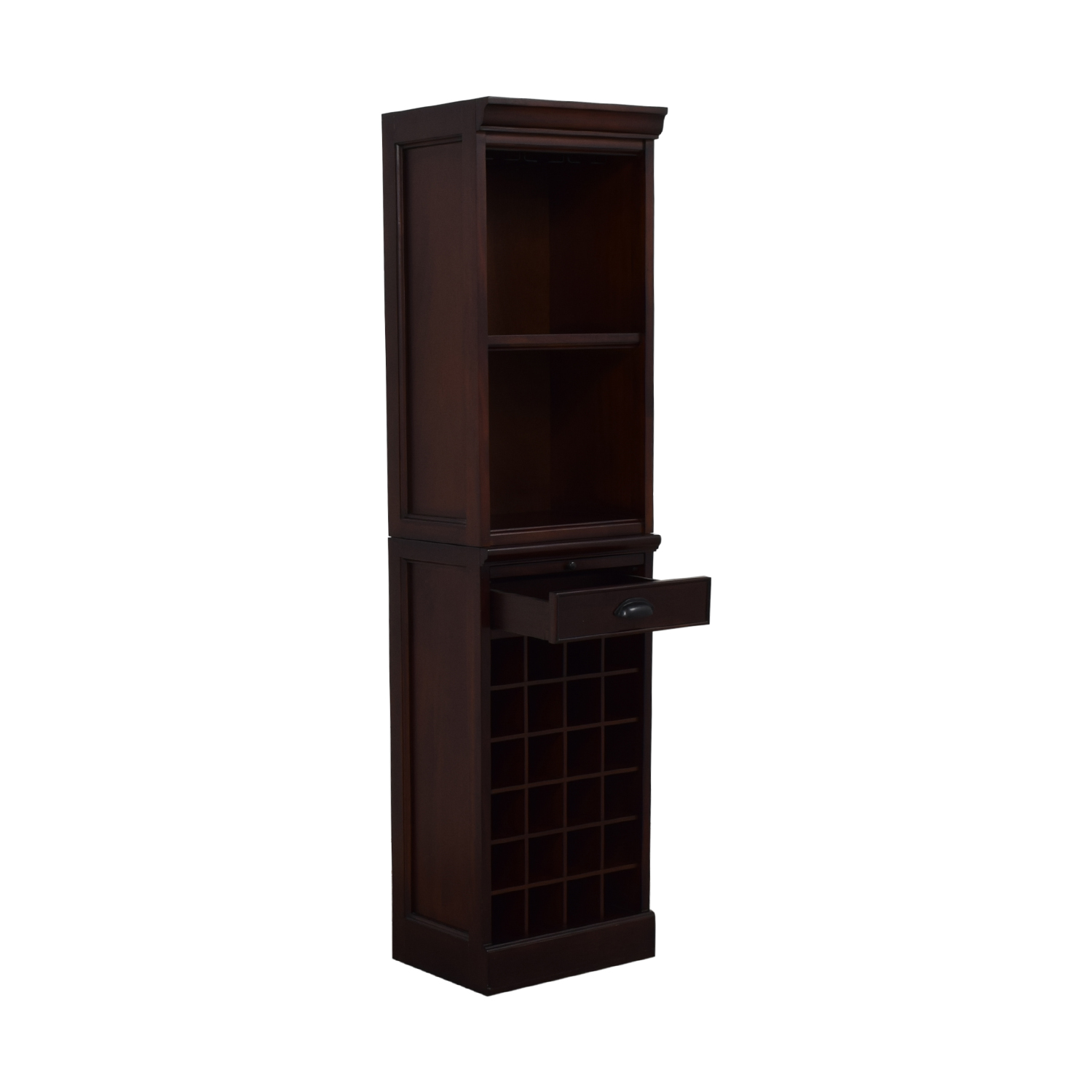 Pottery Barn Pottery Barn Wine Grid Cabinet Bar Tower discount