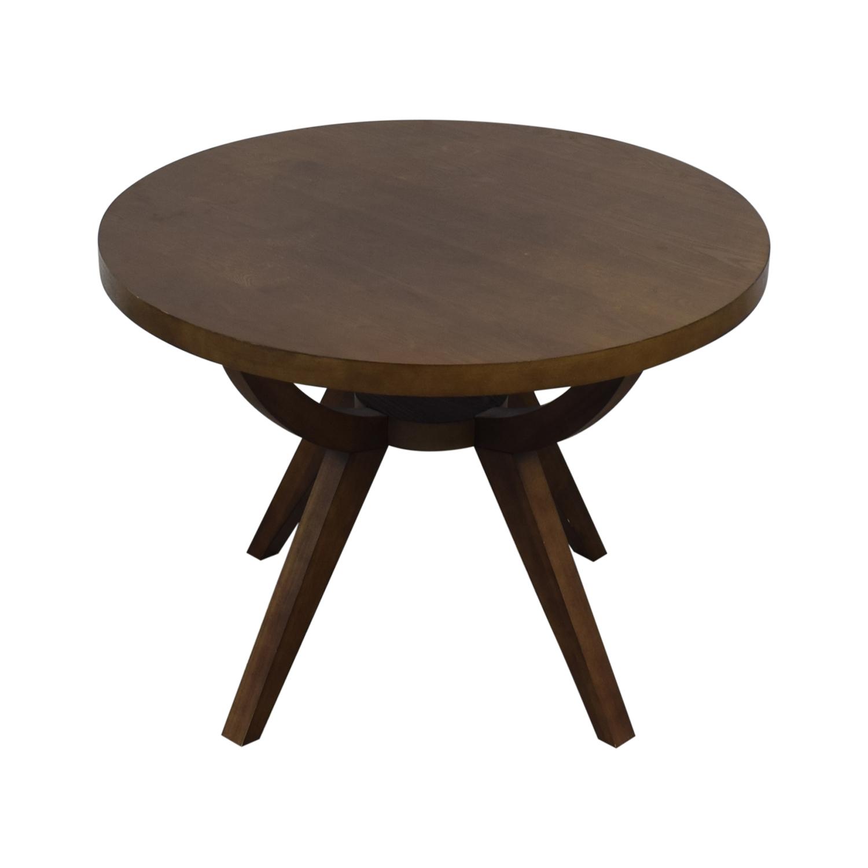 West Elm West Elm Arc Base Pedestal Table Tables