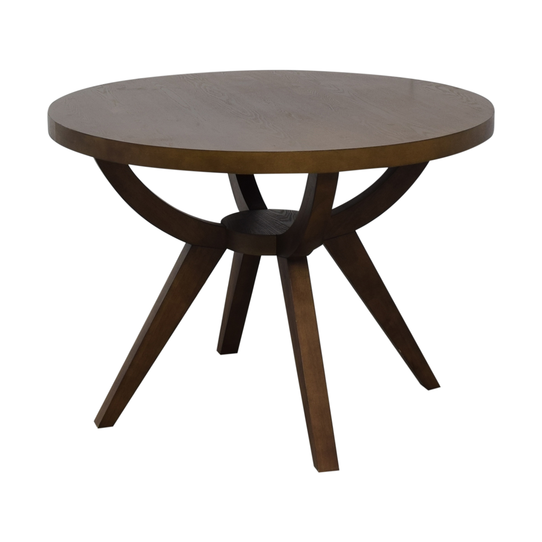 West Elm West Elm Arc Base Pedestal Table for sale