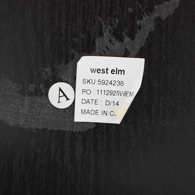 buy West Elm Arc Base Pedestal Table West Elm Dinner Tables