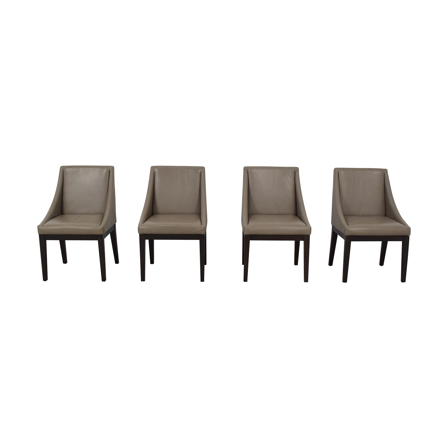 buy West Elm West Elm Leather Chairs online