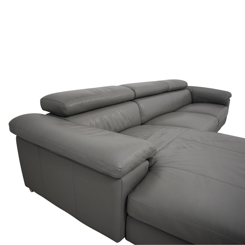 buy Tui Lifestyle Grey Signature Sectional Sofa Tui Lifestyle Sectionals