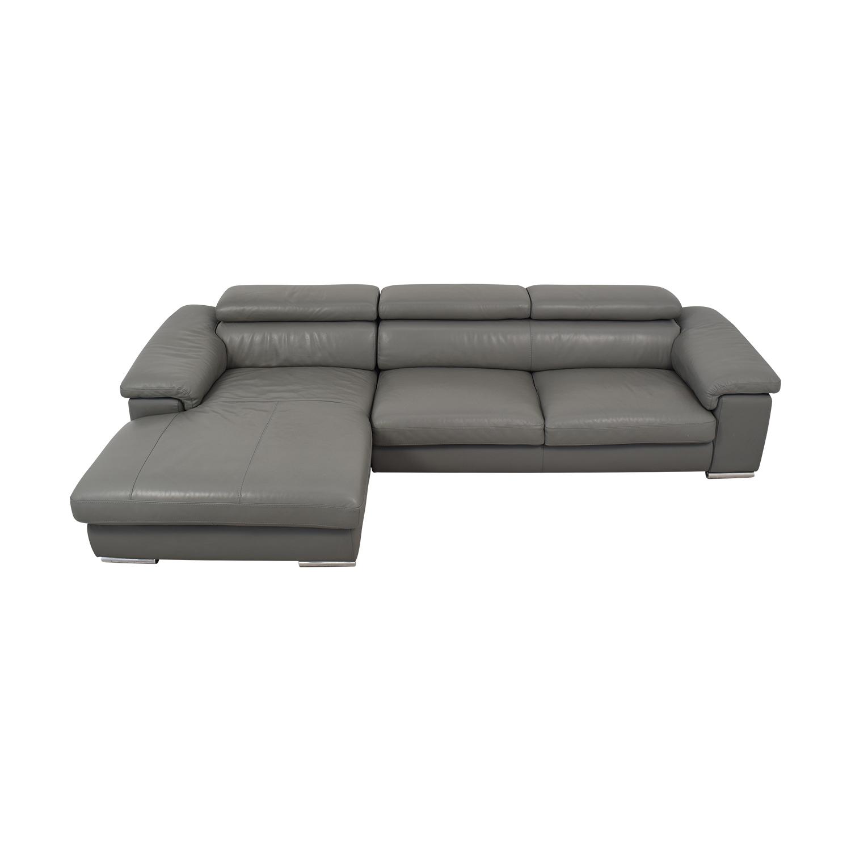 Tui Lifestyle Tui Lifestyle Grey Signature Sectional Sofa discount