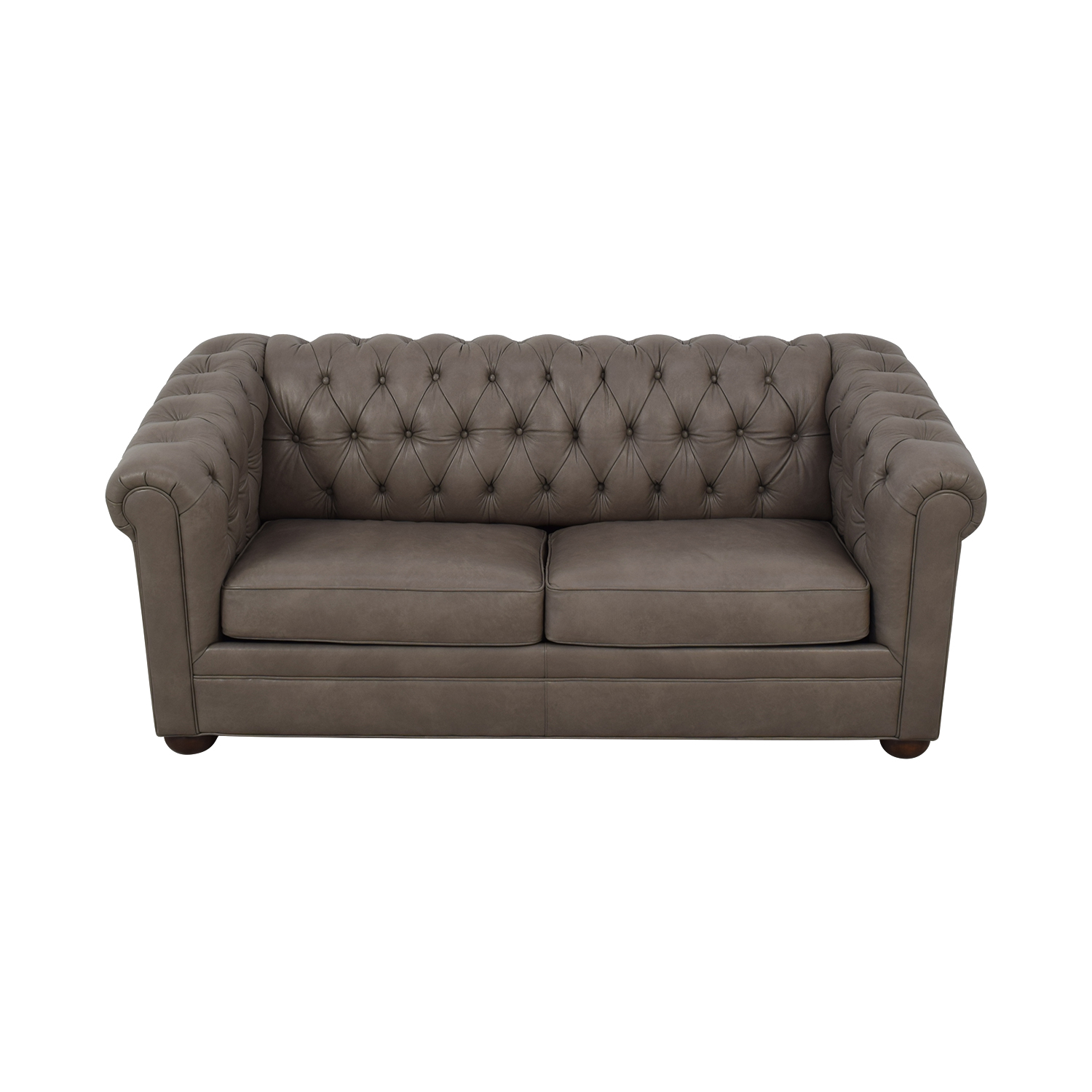 Club Furniture Club Furniture Leather Chesterfield Sleeper Sofa for sale
