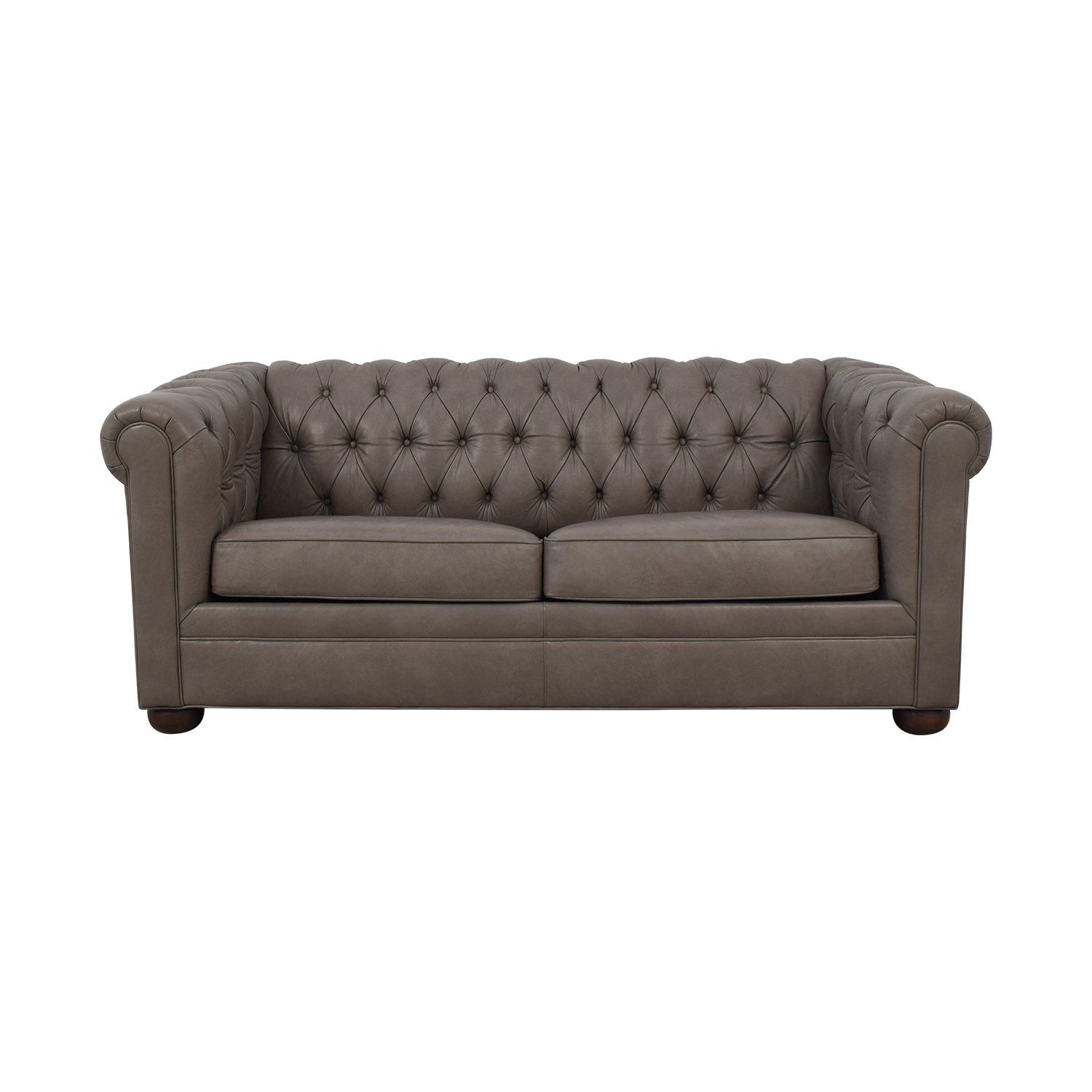 Club Furniture Club Furniture Leather Chesterfield Sleeper Sofa nyc
