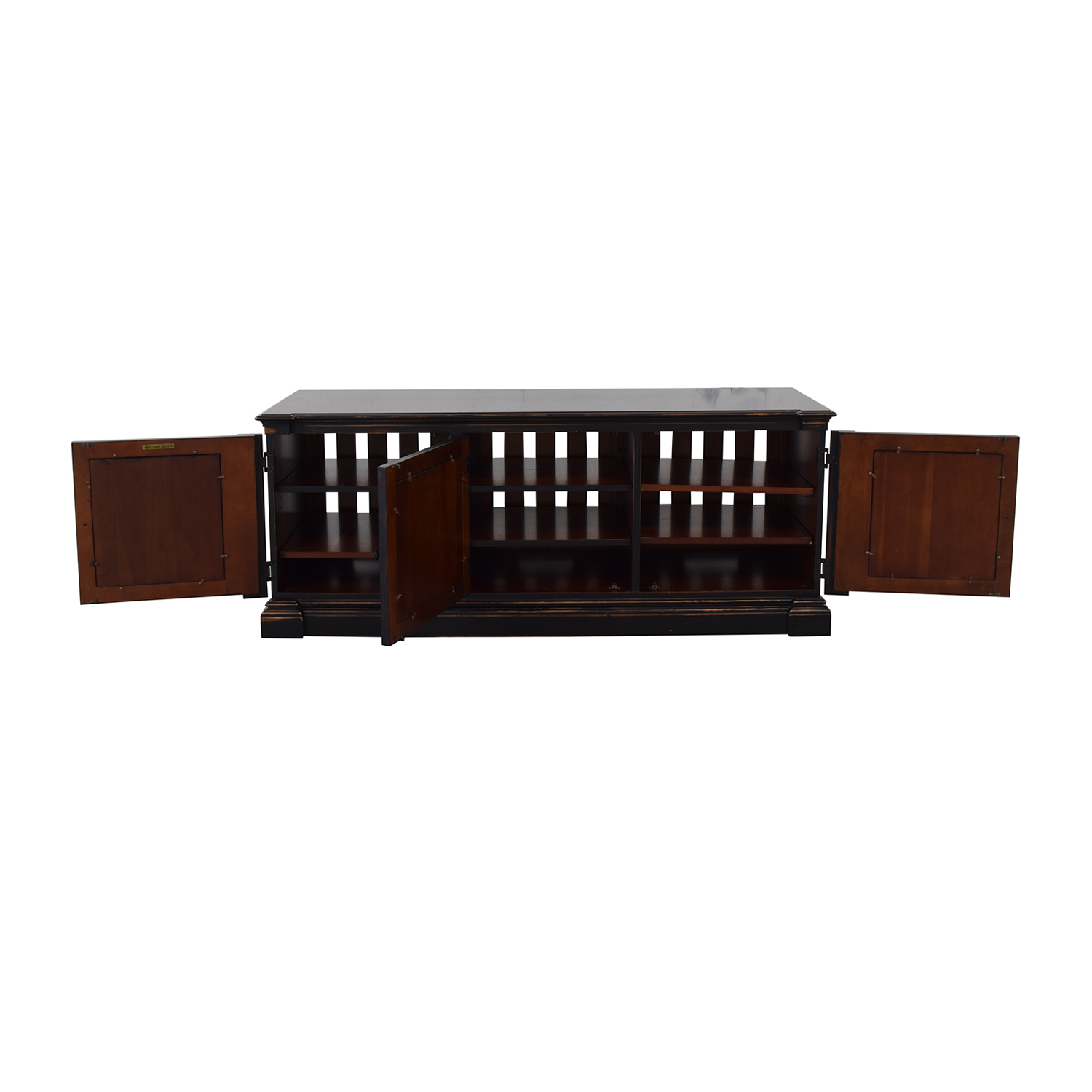 shop Ethan Allen Media Console Ethan Allen Storage