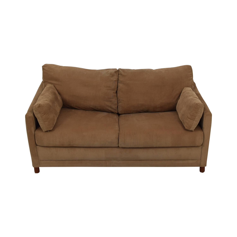 shop Jennifer Furniture Corduroy Loveset Sofabed Jennifer Furniture Sofas