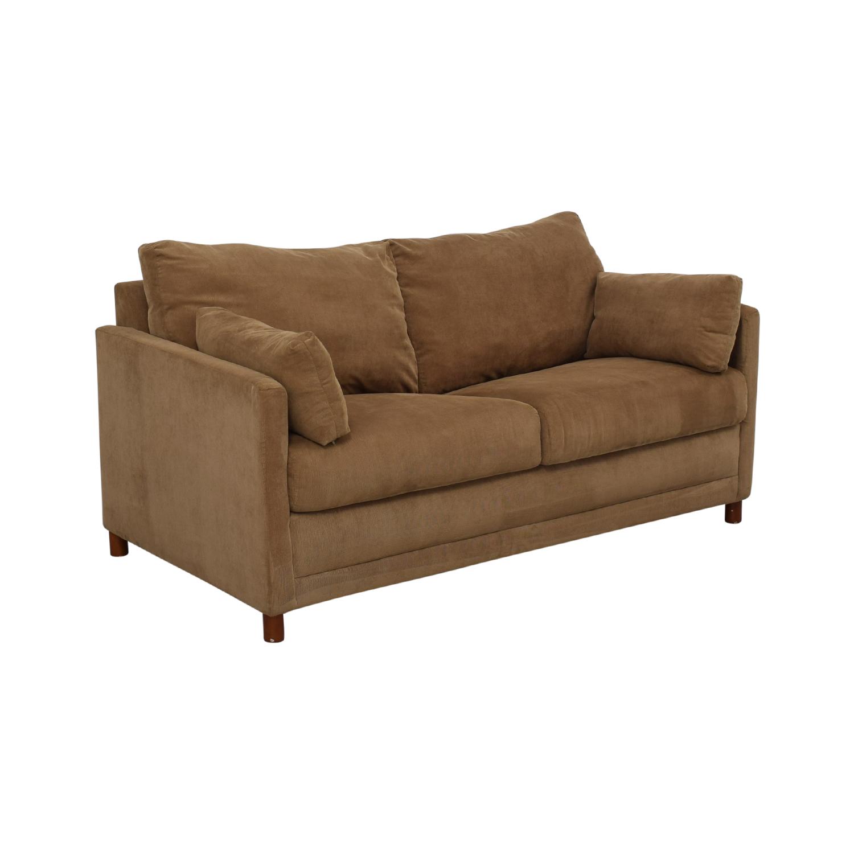 Jennifer Furniture Jennifer Furniture Corduroy Loveset Sofabed Sofa Beds