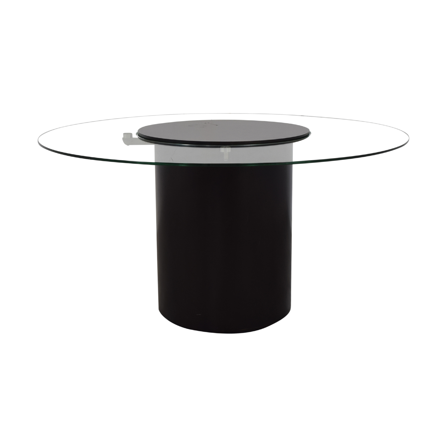 BoConcept Round Glass Dining Table sale
