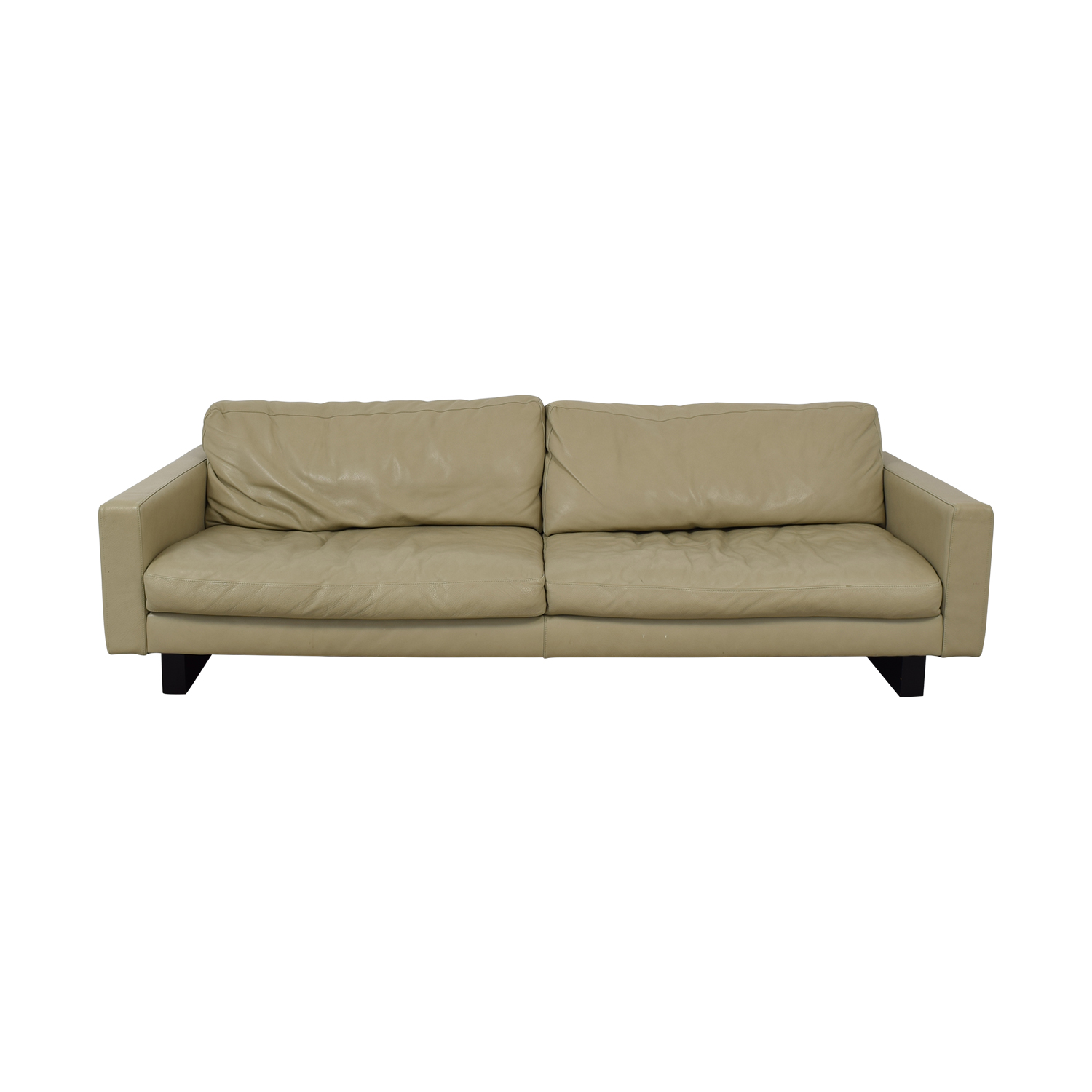 74% OFF - Room & Board Room & Board Hess Leather Sofa / Sofas