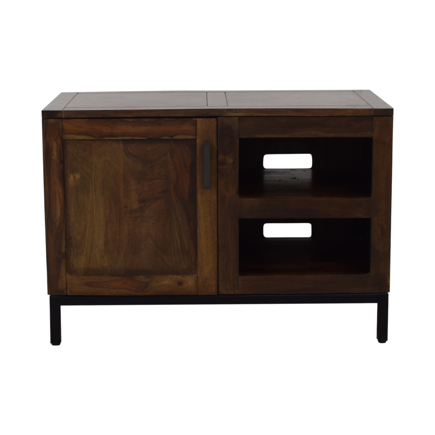 Crate & Barrel Crate & Barrel Wyatt Media Console dimensions