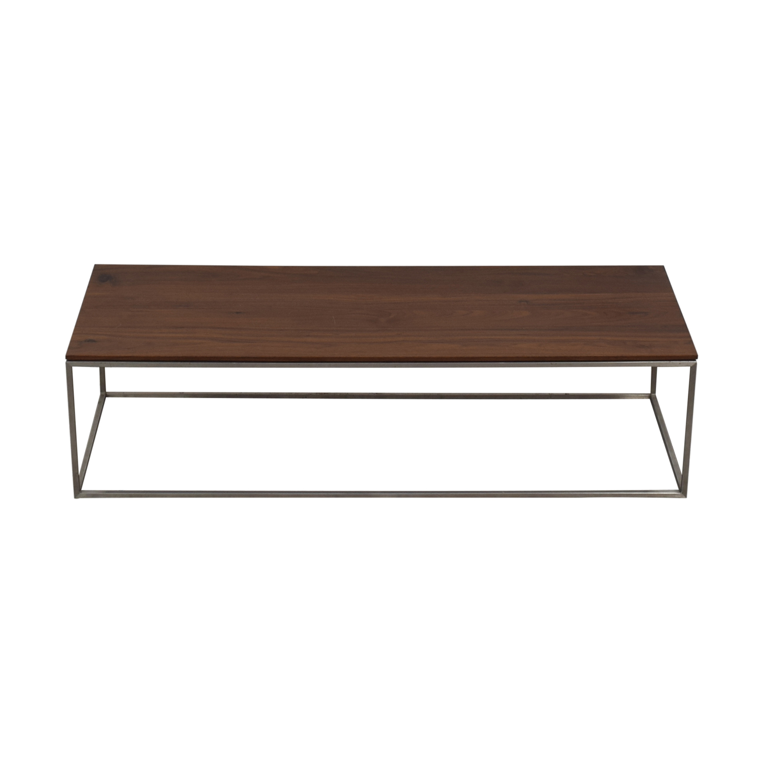 buy Crate & Barrel Frame Coffee Table Crate & Barrel Tables