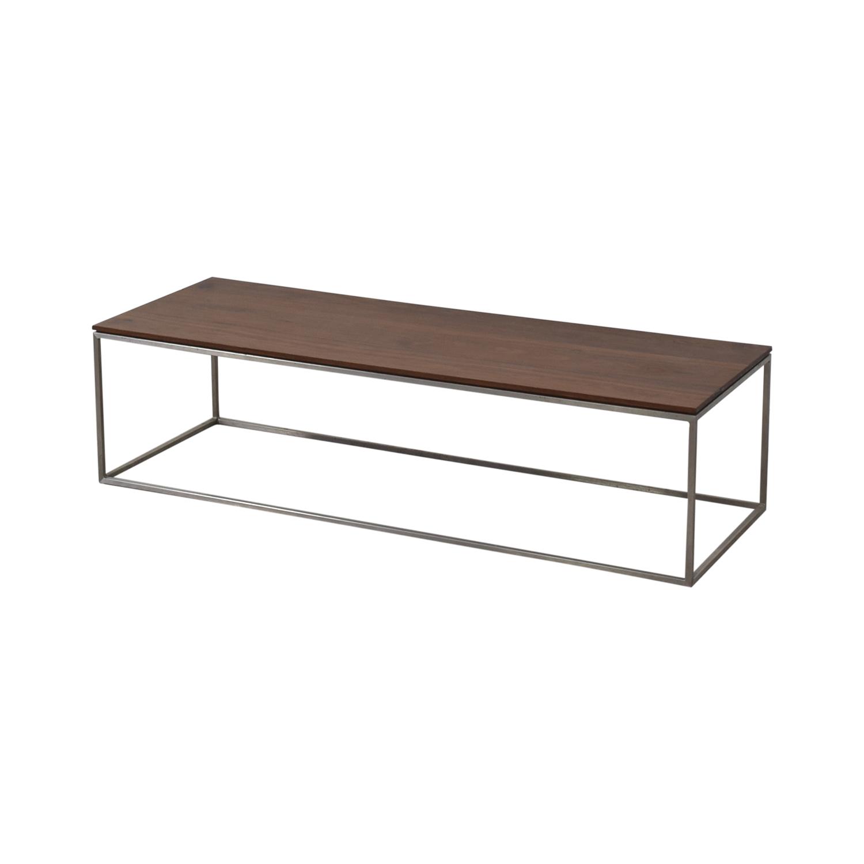 Crate & Barrel Crate & Barrel Frame Coffee Table nj