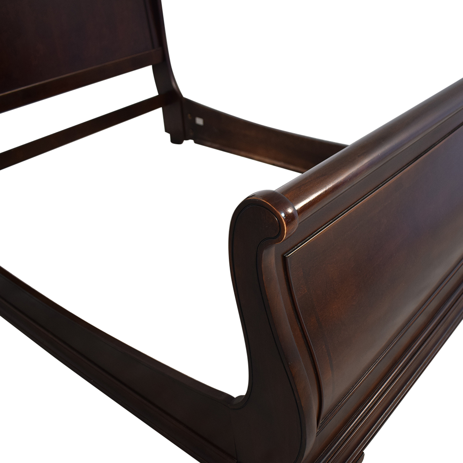 Havertys Havertys Orleans Queen Grand Sleigh Bed Frame used
