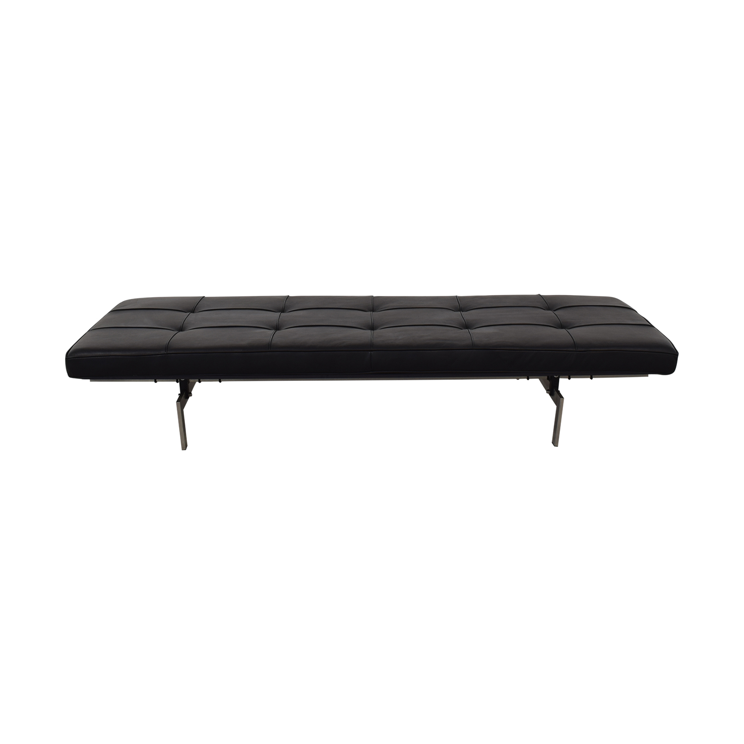 buy Modern Classics Kjaerholm-Style Leather Daybed Modern Classics