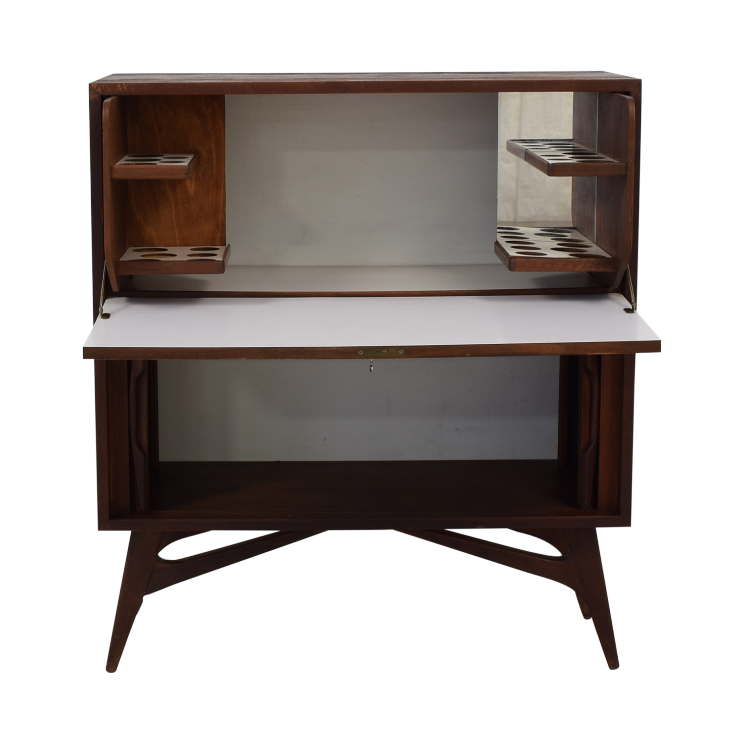 65 Off Mid Century Modern Secretary Tables