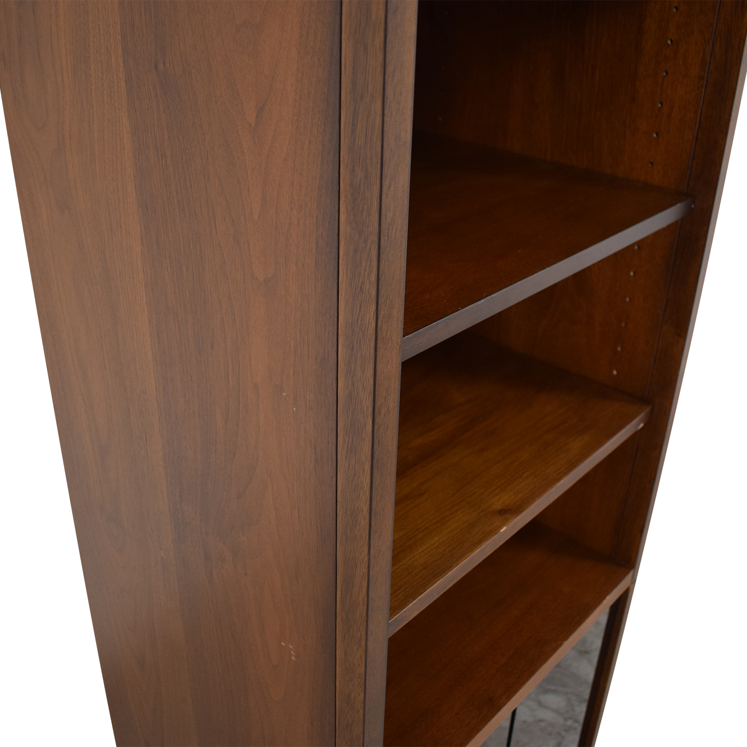 shop Bookcase with Glass Cabinet  Bookcases & Shelving