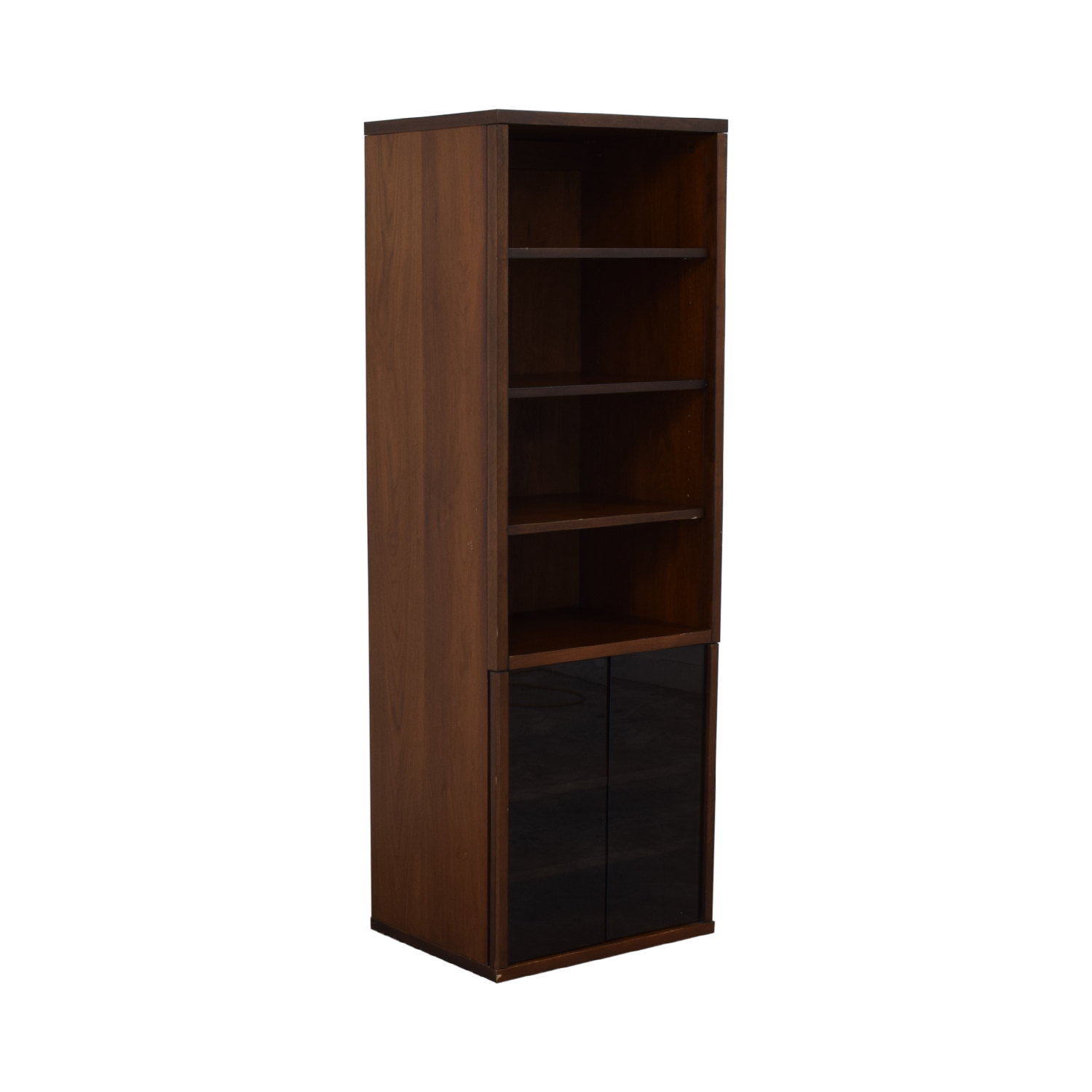 Bookcase with Glass Cabinet second hand
