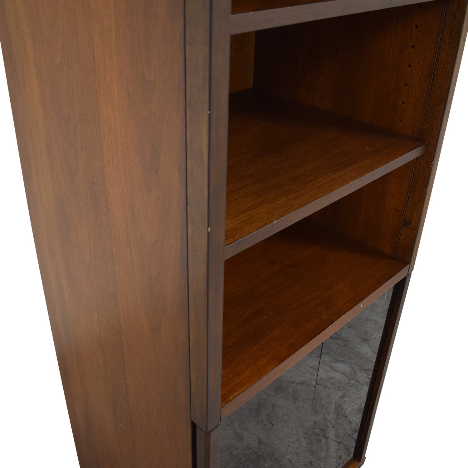 Room & Board Room & Board Bookcase with Glass Cabinet price