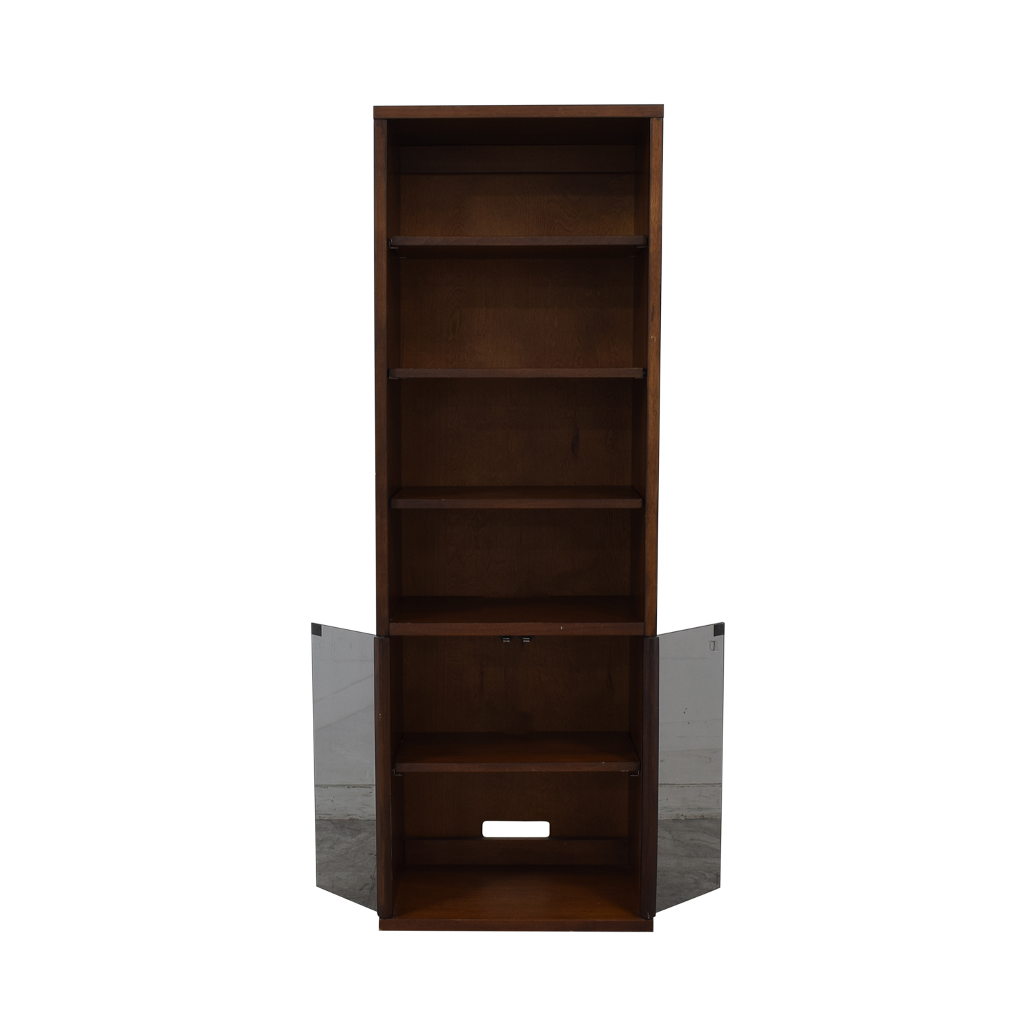 Room & Board Room & Board Bookcase with Glass Cabinet discount