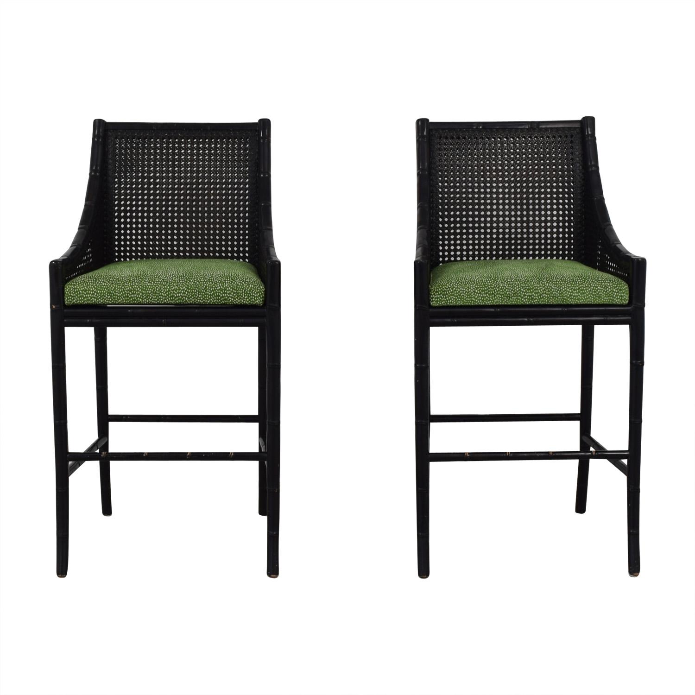 78 Off Palecek Palecek China Bay Barstools Chairs
