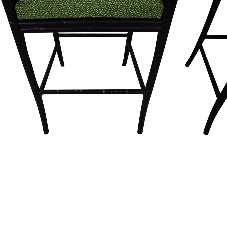 Marvelous 85 Off Palecek Palecek China Bay Barstools Chairs Theyellowbook Wood Chair Design Ideas Theyellowbookinfo