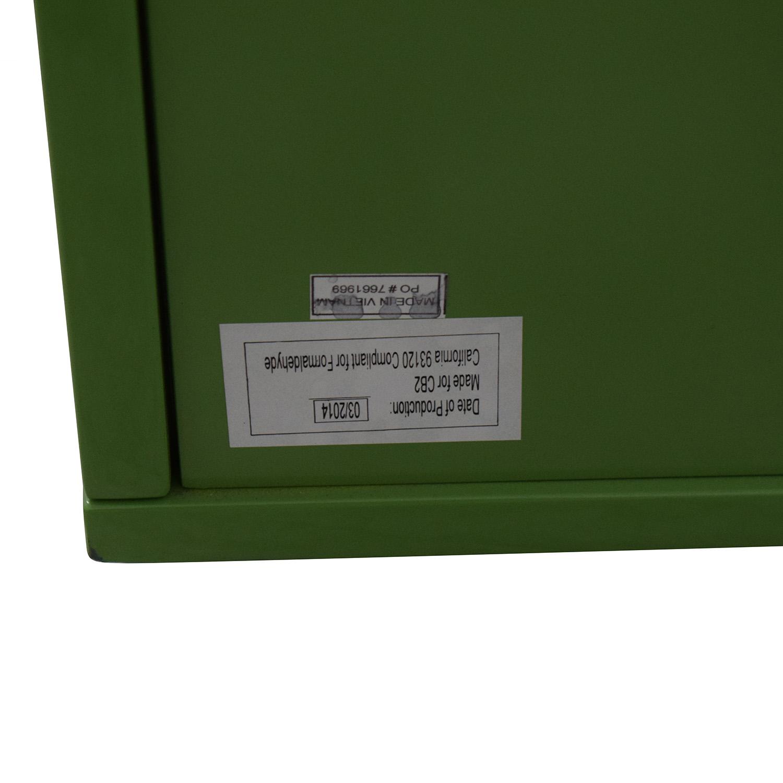 CB2 Latitude Green Low Dresser sale