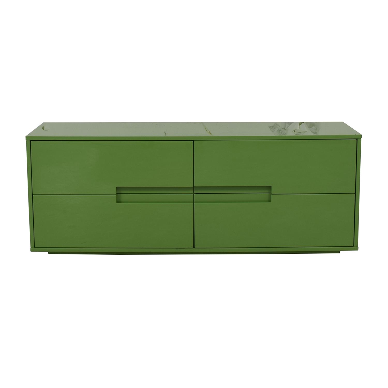 CB2 Latitude Green Low Dresser CB2