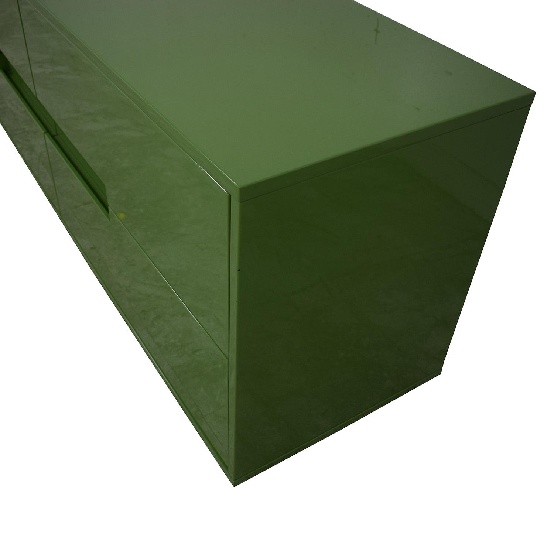 CB2 CB2 Latitude Green Low Dresser Green