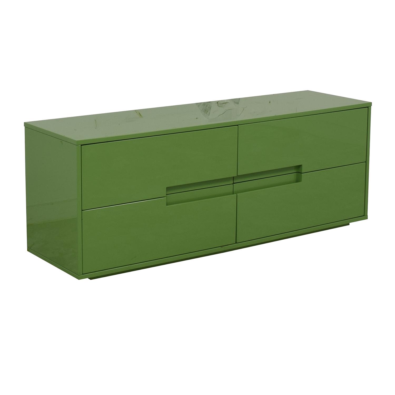 buy CB2 Latitude Green Low Dresser CB2