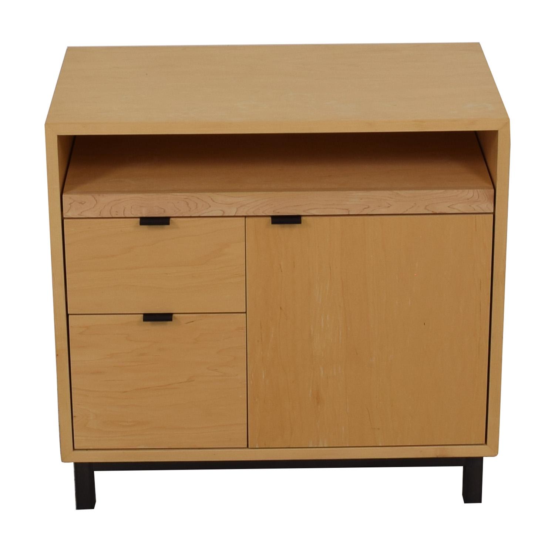 buy Room & Board Copenhagen Office Cabinet Room & Board Storage