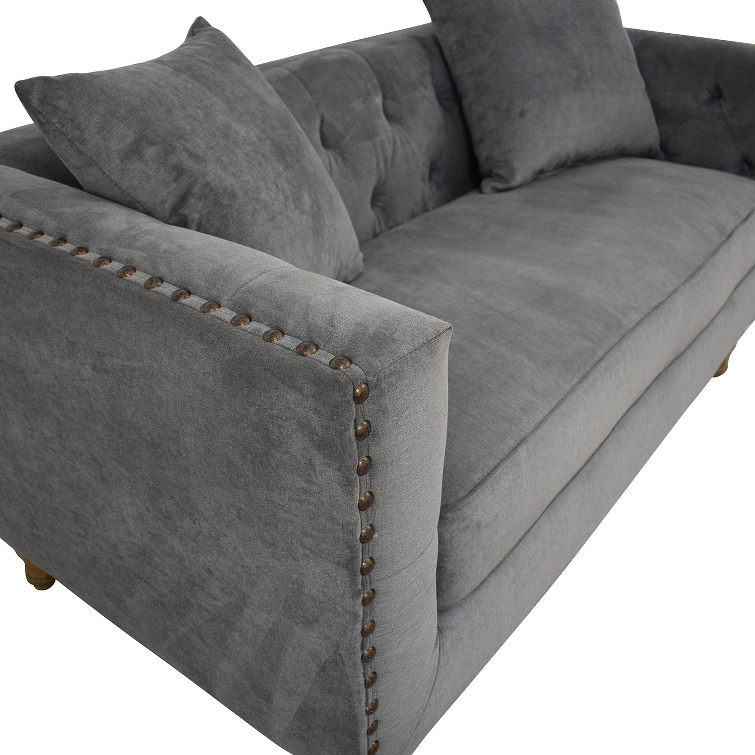 Acme Acme Grey Loveseat on sale