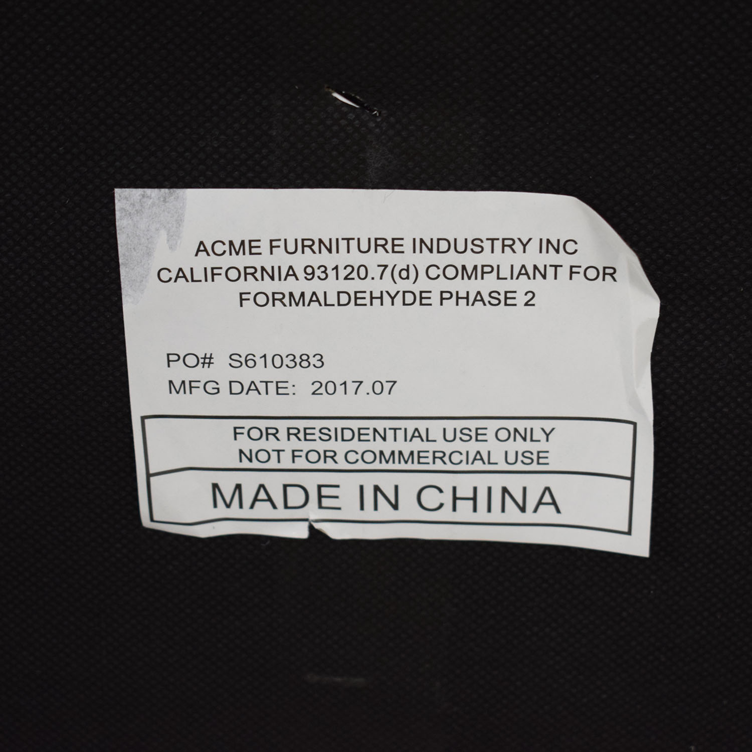 Acme Acme Grey Loveseat nyc