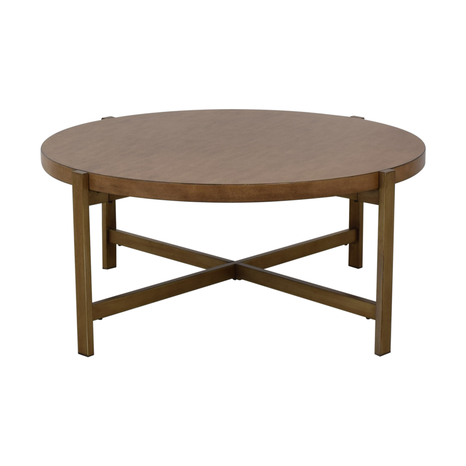 78 Off Ashley Furniture Ashley Furniture Solid Wood Coffee Table