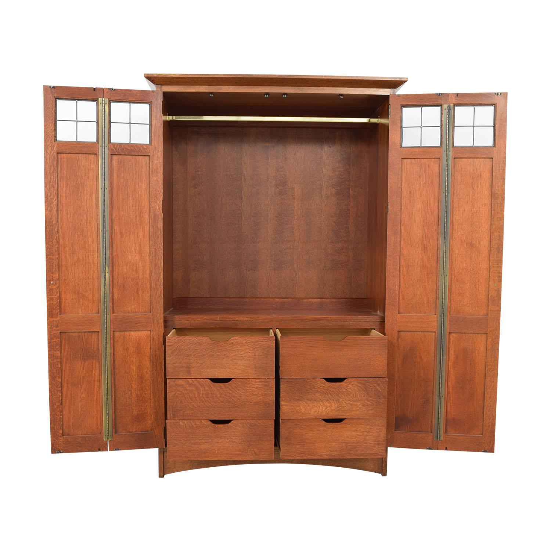 buy Stickley Furniture Wardrobe Stickley Furniture