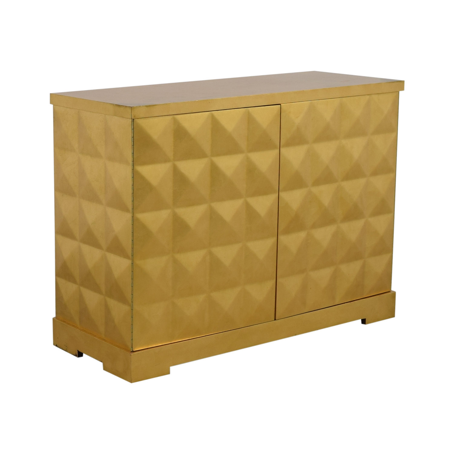 80 Off Baker Furniture Barbara Barry For Gold Leaf Cabinet Storage