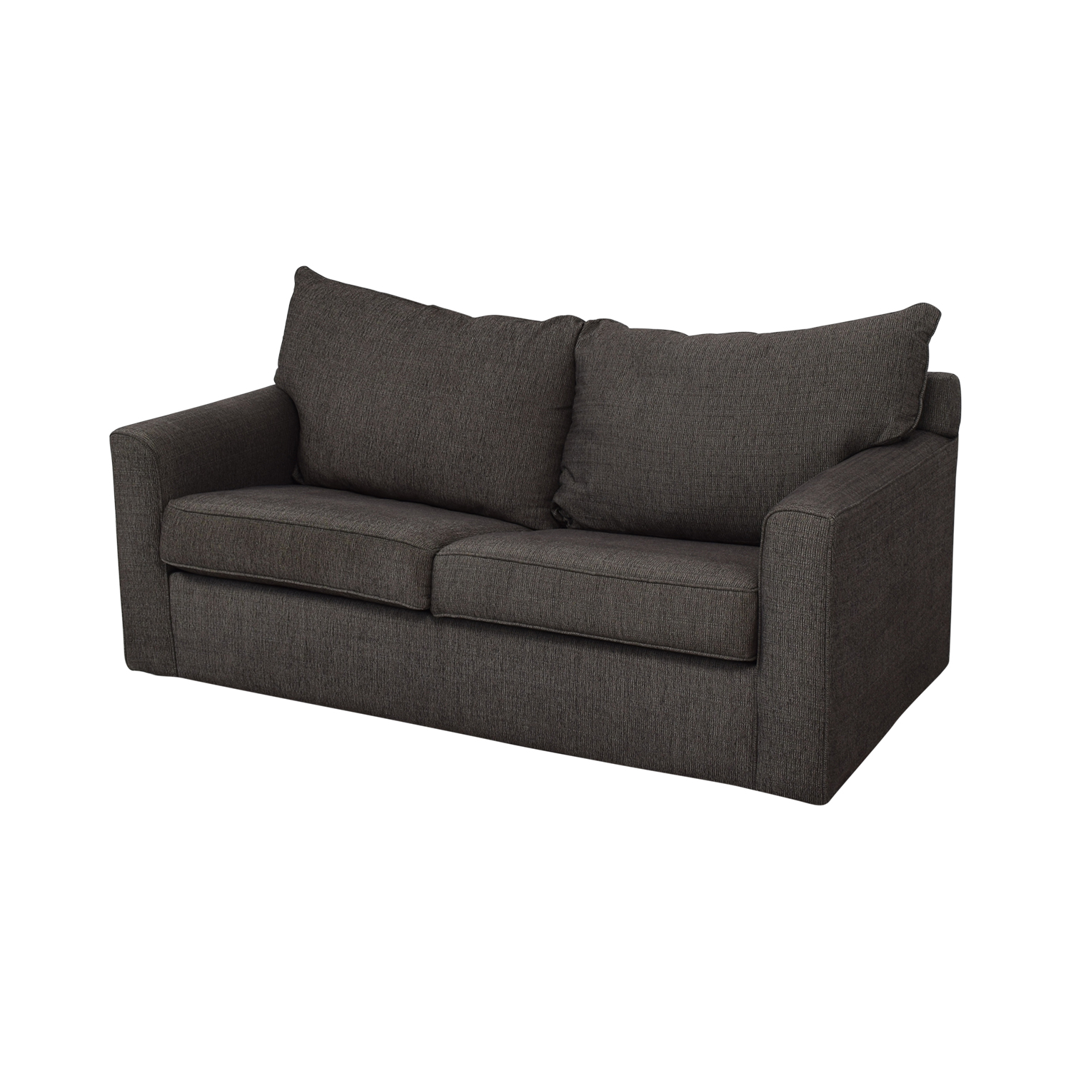 Raymour & Flanigan Raymour & Flanigan Trayce Chenille Full Sleeper Sofa for sale