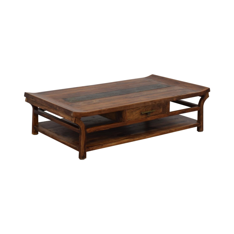 Handmade Wooden Coffee Table nyc