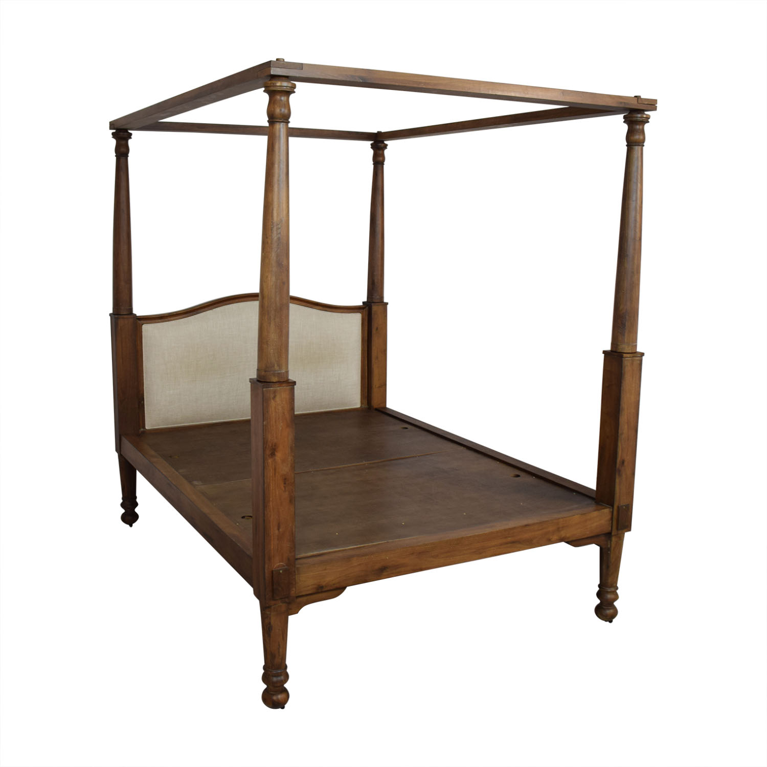 buy Restoration Hardware Early 19th C. American 4-Poster Queen Bed Restoration Hardware Beds
