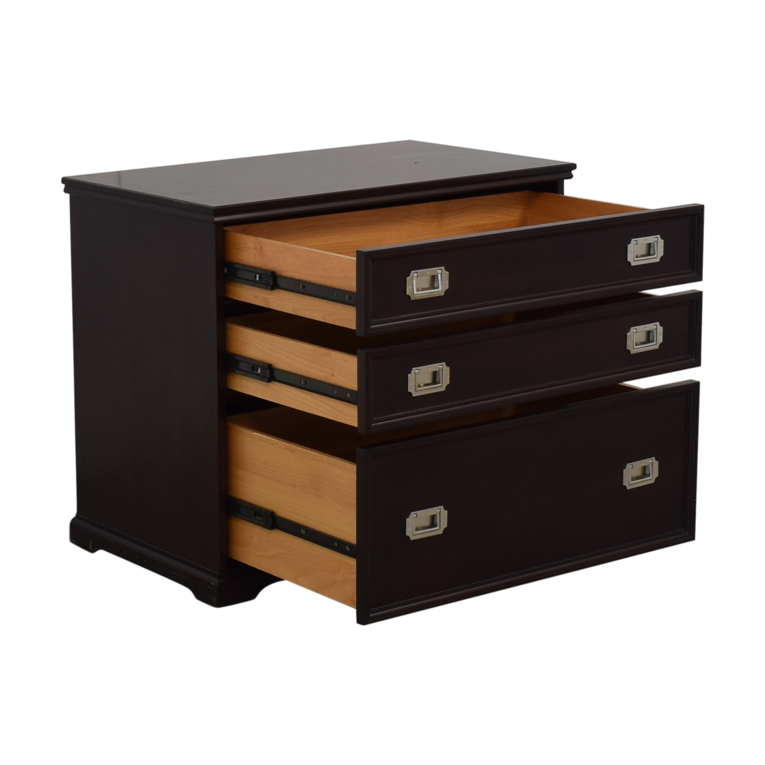 Pottery Barn Pottery Barn Three-Drawer Solid Wood Dresser for sale