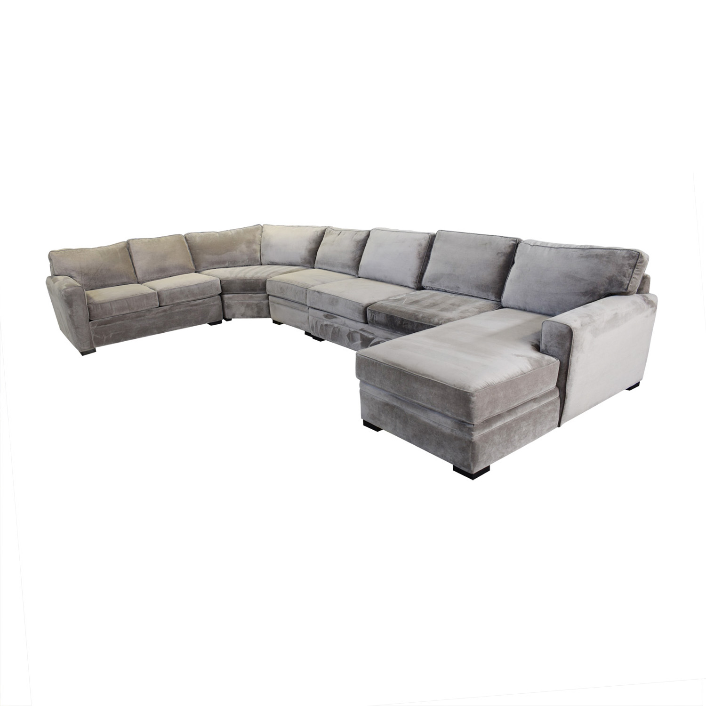 Raymour & Flanigan Raymour & Flanigan Five Piece Sectional Sofa used
