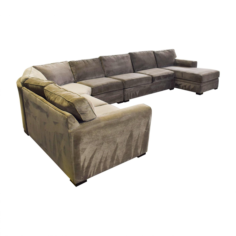 Raymour & Flanigan Raymour & Flanigan Five Piece Sectional Sofa price