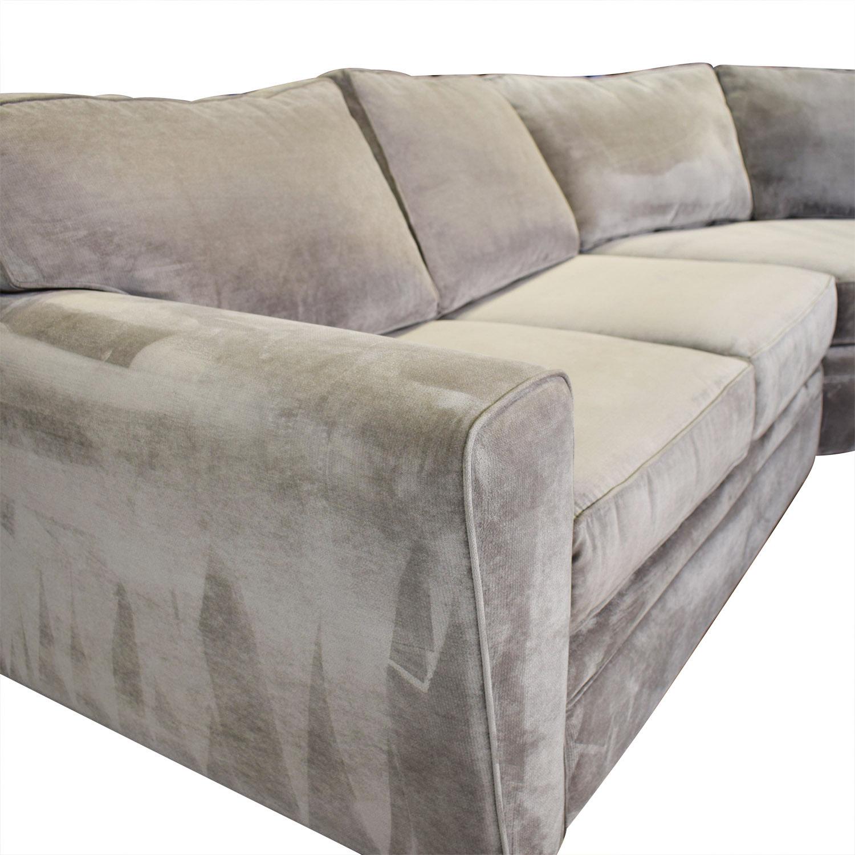 Raymour & Flanigan Raymour & Flanigan Five Piece Sectional Sofa Sofas