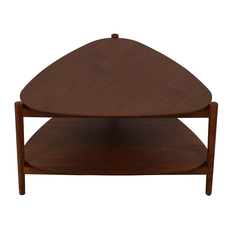 West Elm West Elm Retro Tripod Coffee Table for sale