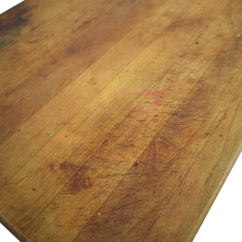 shop Vintage Butchers Block  Utility Tables
