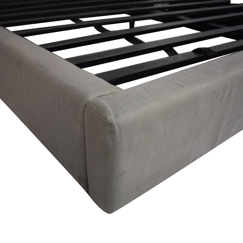 buy Restoration Hardware Sullivan Fabric Platform King Bed Restoration Hardware