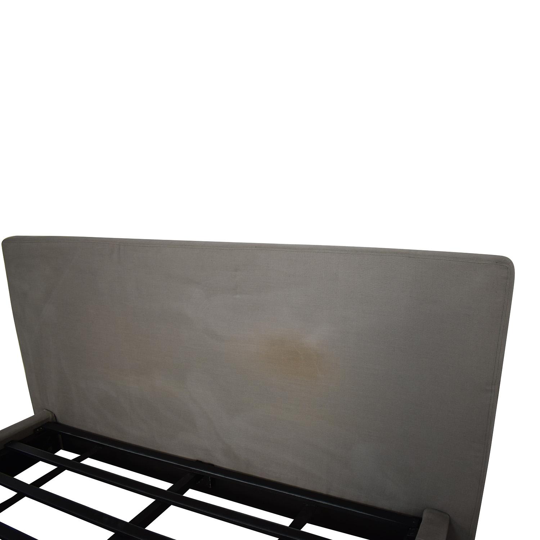 buy Restoration Hardware Restoration Hardware Sullivan Fabric Platform King Bed online