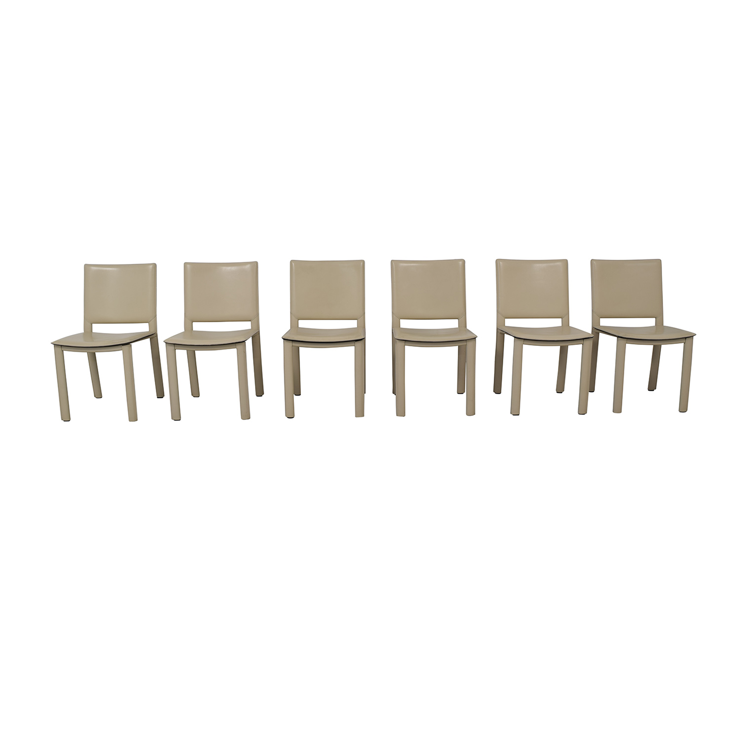 buy Room & Board by Maria Yee Madrid Leather Dining Chairs Room & Board